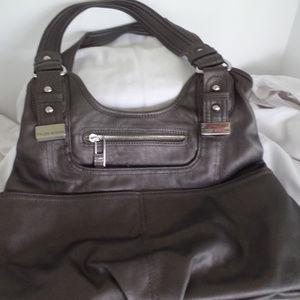 Tyler Rodan Shoulder Bag - Brown Metallic